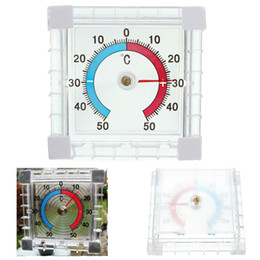 Wholesale Garden Temperature - Window Indoor Outdoor Wall Greenhouse Garden Home Office Temperature Thermometer