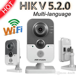 Wholesale Pir Mp - Hikvision mutil-languange DS-2CD2432F-I 3MP POE IP cube network security cctv camera Built-in microphone with PIR detection