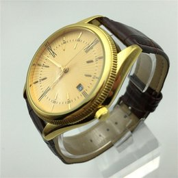 Wholesale Best Selling Leather Watches - best Selling quality Leather AAA watches Mens Watches Top Brand Luxury watches Men Fashion 3ATM Waterproof montre homme Male Clock