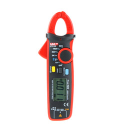 Wholesale Ground Earth - Freeshipping True RMS AC DC Mini Clamp Meters Multimeter Current tongs w  Capacitance Tester Digital Earth Ground Megohmmeter