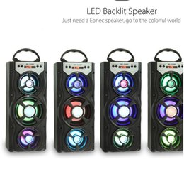Wholesale Play Dance - Eonec MS-220BT Wireless Bluetooth Speaker with FM Radio Outdoor Speaker Square Dance Audio High Power AUX TF Card Music Playing