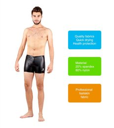 Wholesale Competitive Swimsuit - HXBY Men Boys fastskin Full Body PU Waterproof Body Suit Swimwear Long Sleeve Arena Competitive Swimming Swimsuit-1038--PU