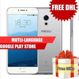 Wholesale Google Tv M3 - Dhl Free Original Meizu Pro 6S 4G LTE Phone Android Helio X25 Deca Core 64GB ROM 4GB RAM 2.5GHz 5.2inch 12.0MP Camera Vs Meizu M3 Note
