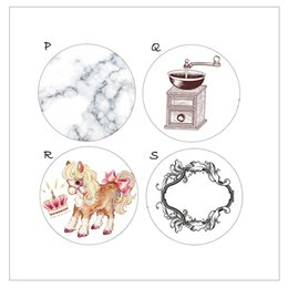 Wholesale Japanese Washi Paper Wholesale - Wholesale- 2016 Horse Coffee Marble Mirror Washi Tape Colored DIY Japanese Paper Kawaii Scrapbooking Tools Masking Tape Adhesiva Decorative