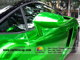 Wholesale Green Chrome Vinyl - Hot Sales 1.52*20M Durable Glossy Pearl Chrome Car Decal Vinyl Wrap Car Wraps Vinyl Matte Car Wraps Vinyl