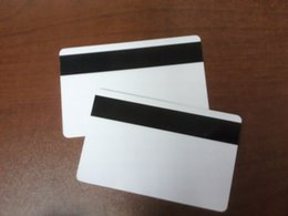 Wholesale Hico Card - Wholesale- 5000pcs lot printable Blank Plastic Hico magnetic stripe Card