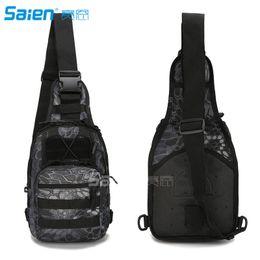 Wholesale Packing Box Ipad - Sling Bag, Small Premium EDC Tactical Sling Pack Tactical Sling Bag Pack Fishing Packs for iPad 1000D Nylon