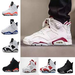 Wholesale Best air retro men women Basketball shoes black cat Hare Carmine White Infrared Angry bull sport blue Oreo Olympic Maroon Chrome sneaker