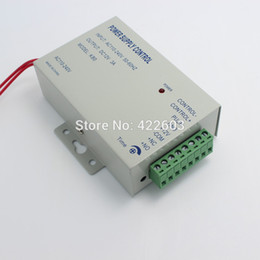 power supply control system Promo Codes - Wholesale-DC 12V New Door Access Control system Switch Power Supply 3A AC 110~240V Delay time max 15 sec free shipping