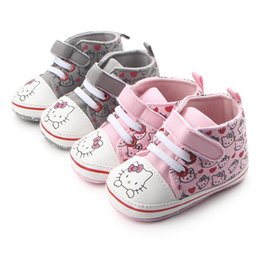Wholesale Toddler Girls Animal Print Shoes - Hot Sale New Cartoon Fashion Shoes Non-Slip Soft Toddler Infant Baby Kids Girl First Walkers Spring Autumn