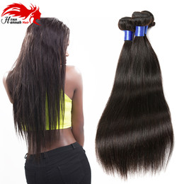 "Wholesale Modern Hair Show - Modern Show 3 Piece Malaysian Straight Hair 10""-28"" Natural Color Soft Silky Human Hair Bundles 300G Remy Hair Weave Extensions"