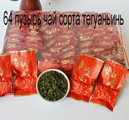 Wholesale Free Tea Bags - 2017 China 500 grams of high-end Tieguanyin Tieguanyin 64 Oolong Tea vesicle health bag free shipping