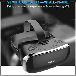 Canada Vente en gros-Original Motion V3 VR tout en un des verres RK3288 Quad core 2G Ram 16G Rom 5.5 pouces FHD 1080P écran 3D Lunettes réalité virtuelle Offre