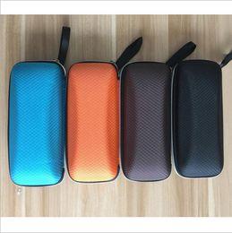 Wholesale Portable Beauty Cases - Unisex Glasses Case Women Men Portable Casual Hard Rectangle Grid Zipper Eyeglasses Case Box 17*8*5.5cm Health Beauty Accesories YYA263