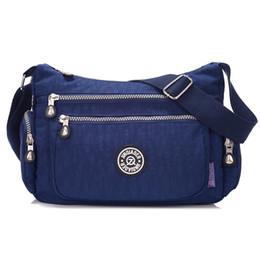 Wholesale Mini Monkeys - Wholesale-nylon monkey women messenger bags vintage travel shoulder bags fashion bolsas ladies waterproof solid Handbags kiple style 2016