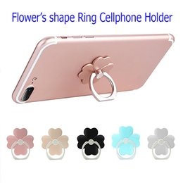 Wholesale Cheap Stands For Tablets - Cheap Mobile Mount Cute Phone Holder Finger Ring Cellphone Standing for all smartphones Iphone Samsung S8 LG Tablets in stocks