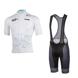 Wholesale Team Sky Pro Cycling Jersey - 2017 new arrive pro team sky cycling jersey short-sleeve summer Quick-Dry Racing Bicycle ropa ciclismo cycling cloth bib pants gel pad