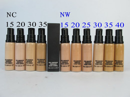 Wholesale Natural Gel Nails - NEW makeup foundation , PRO LONGWEAR CONCEALER CACHE-CERNES 9ML 10 different color 9ml concealer (10pcs lots)