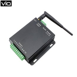 Wholesale Remote Software - Wholesale- USR-WIFIIO-83 direct factory 8 Channel WIFI Relay Board, WIFI Remote Control Switch - free software 802.11 b g n