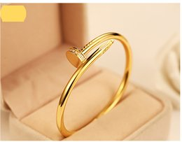 Wholesale Stars Rings - Nail jewelry wholesale diamond bracelet couple models 18k rose gold bracelet and rings Korean star the same paragraph you want