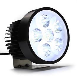 Wholesale 12v Motorcycle Power - High Power 18W super bright Motorcycle Led light Fog White Headlight Working Light 12V 80V HA10584