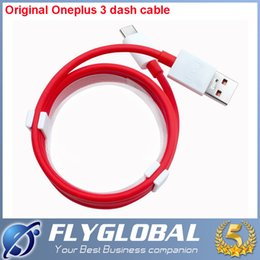 Wholesale Usb 5v 4a - 2016 100% Original For Oneplus 3 Cable Dash 5V 4A USB Type-C Official 100cm Flash Charging Wire One Plus three oneplus3 Mobile Phones