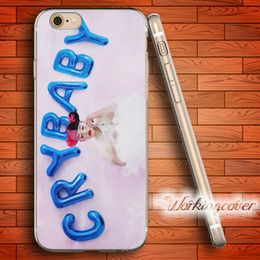 Wholesale Iphone 4s Baby - Coque Melanie Martinez Cry Baby Soft Clear TPU Case for iPhone 7 6 6S Plus 5S SE 5 5C 4S 4 Case Silicone Cover.