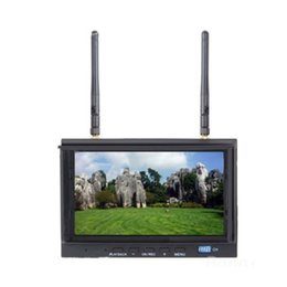 Wholesale Build Lcd Monitor - Skyzone SKY-700D 5.8GHz 32CH FPV Monitor & Diversity Receiver 7 inch LCD FPV Monitor Built-in DVR Recording F20322