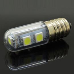 Wholesale Pendant Spotlights - 2017 New 1x Mini E14 LED Lamps 3014 SMD 1.5W 3W 5W 7W 9W Crystal Chandelier 220V Spotlight Corn Bulbs Pendant Fridge Refrigerator Light