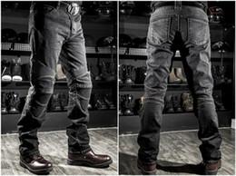 Wholesale drop jeans man - 2017 Wholesale price Komine jeans motorcycle jeans drop resistance slim denim jeans automobile Komine race pants motorcycle pants plus size