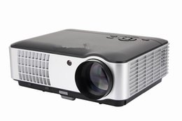 Wholesale Led Tv Projectors - Wholesale-Home Theater RD-806 Led Projector Full HD 2800Lumens Support TV Video Games PS3 Home Cinema Video Projector 1080p Movie