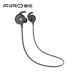 Wholesale Over Ear Stereo - FIRO S5 Sport Earphone Bluetooth Earhook Earbuds Stereo Over-Ear Wireless Neckband Headset Headphone with Mic DHL Free Shipping