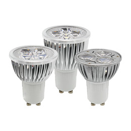 Bombilla 12v 9w online-1 unids / lote NO regulable GU10 E27 MR16 E14 3W 9W 12W 15W Bombilla LED de alta potencia Foco Downlight Lámpara Iluminación LED