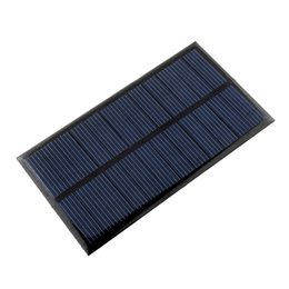 Wholesale mini solar cells - Mini 6V 1W Solar Power Panel Solar System DIY For Battery Cell Phone Chargers Portable Solar Panel