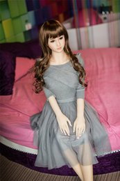 Wholesale Virgin Semi Sex - HOT gift,sex doll virgin first night ,hot sell 2016 Japanese semi-solid silicon sex dolls realistic real doll