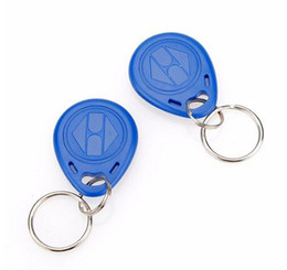 Wholesale Contactless Rfid Smart Card - Factory price make High Quality EM4100 125khz 100pcs lot ISO11785 ABS Plastic Key Fob RFID Contactless Key Fob