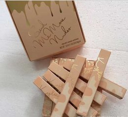 Wholesale N Skin - 2017 Hot Kylie Jenner Send Me More Nude N Liquid Lipstick 12 Color Matte and Velvet Lipgloss By Kylie Cosmetics Free Shipping.