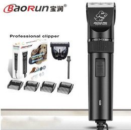 Wholesale Electric Hair Cutter Clipper - BaoRun S1 Professional Pet Cat Dog Hair Trimmer High-power Electric Scissors Animals Grooming Clippers Dog Hair Trimmer Cutters