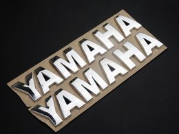 Wholesale Sticker Gas Tank Motorcycle - 180mm 3D Fuel Gas Tank Fairing Emblem Badge Decal Sticker for Yamaha Motorcycles
