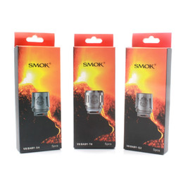 Wholesale T8 Atomizer Coil - SMOK TFV8 BABY Coil TFV8 baby Tank Head Replacment V8 T8 T6 X4 Q2 coils for smok TFV8 big baby atomizer