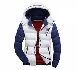 Wholesale 78 Jackets - Wholesale- Hot Brand New Fashion 2016 Winter Jacket Men Warm Casual Parka Men padded Winter Jacket Casual Handsome Winter Coat 78