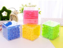Wholesale Toy Maze Games - Cool!! Maze Magic Cube Puzzle 3D Mini Speed Cube Labyrinth Rolling Ball Toys Puzzle Game Cubos Magicos Learning Toys For Chilren