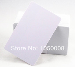Wholesale Inkjet Pvc - Wholesale- 100pcs lot Inkjet Print blank PVC printable card for Espon printer, Canon printer