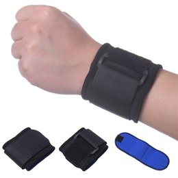 Wholesale Wholesale Gym Pads - Wholesale- fitness Adjustable wristband hand wrist straps sport wristbands Strap Pad support wrist protector wrist brace gym