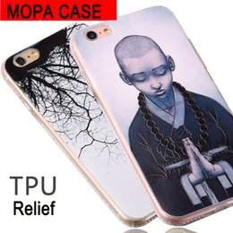 Wholesale Old Case Cover - For iphone 6 Case For iphone 6S Plus Phone Cases old tree blessing monk Universe Cover ph67