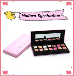 Wholesale Modern Shadow - 1pcs Modern Eye shadow Palette 14colors Limited Eye Shadow Palette with Brush Pink Eyeshadow Palette New Arrival