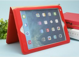 Wholesale Wake Up New Ipad - For Apple iPad 2 3 4 Case Auto Sleep  Wake Up Flip PU Leather Cover For New iPad 2017 Air1 Air2 mini 4 Smart Stand Holder Folio Case