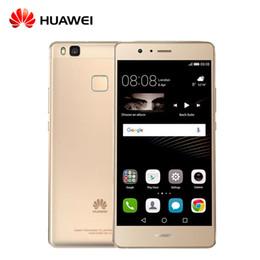 Wholesale Huawei 4g 3g - Original Huawei G9 Lite P9 Lite VNS- TL00 4G LTE Mobile Phone 5.2 inch Octa Core Fingerprint ID 3G RAM 16G ROM 13.0MP free shipping