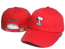 Wholesale fishing visor hats - 2018 Cartoon Snoopy Peanuts Snapback Hat Trucker Visors Cap LOVE figureBird fish Embroidery Comic Baseball Hats Bone Golf Hat Gorras Chapeau