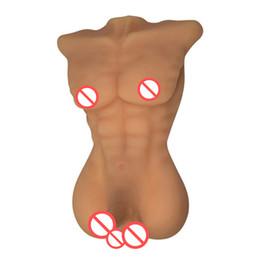 Gay completa bambola online-Bambola piena del sesso della bambola del sesso del silicone per i prodotti del sesso gay delle donne con il grande Dildo e bambola di amore del buco del culo per le donne